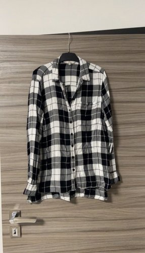 C&A Clockhouse Lumberjack Shirt black-white