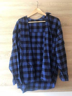 FB Sister Camicia da boscaiolo nero-blu