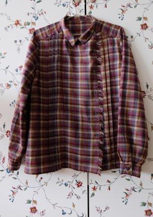 kariertes Hemd aus Wolle vintage unisex