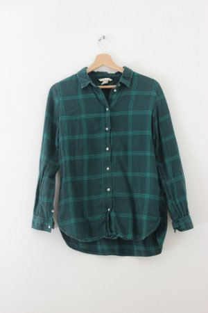 H&M Lumberjack Shirt cadet blue-petrol