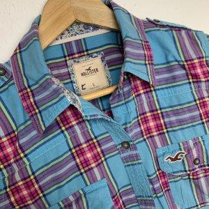 Hollister Koszula z długim rękawem Wielokolorowy