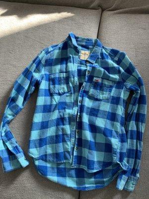 Hollister Camicia da boscaiolo celeste-blu