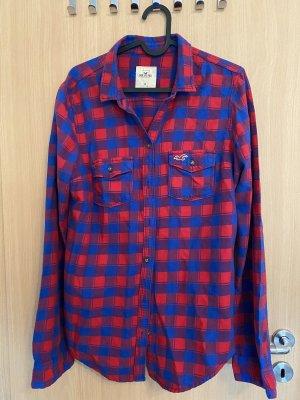 Hollister Lumberjack Shirt blue-red