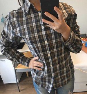 Marc O'Polo Camisa de manga larga negro-gris