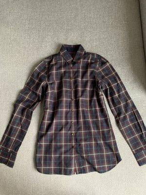 Tommy Hilfiger Houthakkershemd donkerblauw-donkerrood