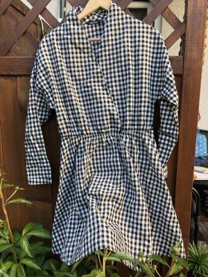 Asos A-lijn jurk zwart-wit