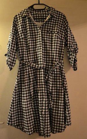 Kariertes Kleid A-Linie Gr. 38-40