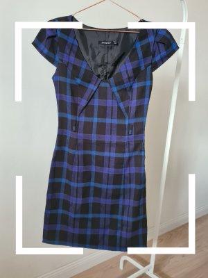kariertes Kleid, blau schwarz, Primark, Gr. 36