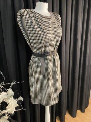 Reserved Balloon Dress black-natural white