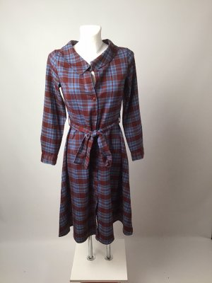 Kariertes Kleid retro Reserved