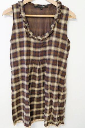 la fée maraboutée Vestito di lana multicolore Tessuto misto