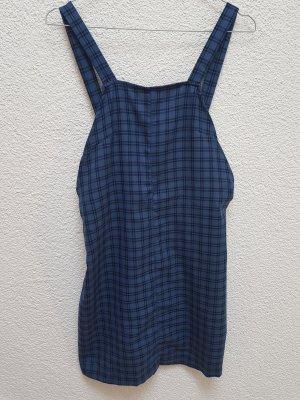 Asos Pinafore Overall Skirt blue-dark blue