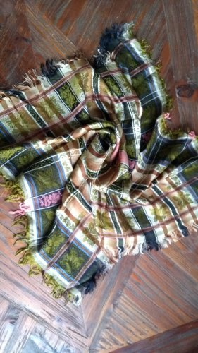 Traditional Scarf multicolored silk