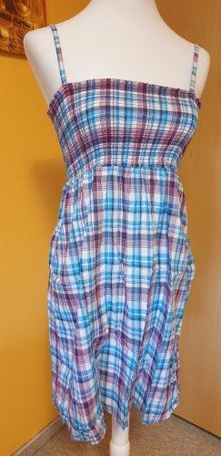 Sublevel Vestido tipo overol multicolor Algodón