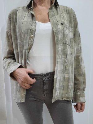 Tom Tailor Camisa de franela verde pálido-verde grisáceo