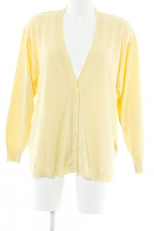 Karin Glasmacher Cardigan gelb Casual-Look