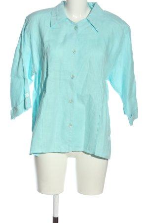 Karin Glasmacher Koszula z krótkim rękawem turkusowy Melanżowy W stylu casual