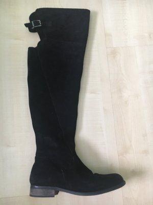 KARKOOL Overknee Stiefel, Valoursleder Stiefel, Overknee Schuhe 38