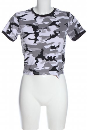 Karl Kani Batik shirt volledige print casual uitstraling