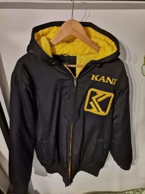 Karl Kani Oversized Jacket yellow-dark blue