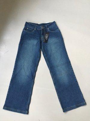 Karl Kani Workowate jeansy niebieski