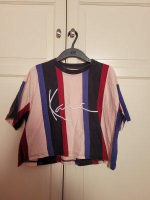 Karl Kani Cropped Shirt multicolored