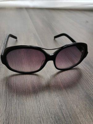 Karl Lagerfeld Owalne okulary przeciwsłoneczne ciemnobrązowy