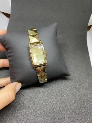 Karl Lagerfeld Horloge met metalen riempje goud