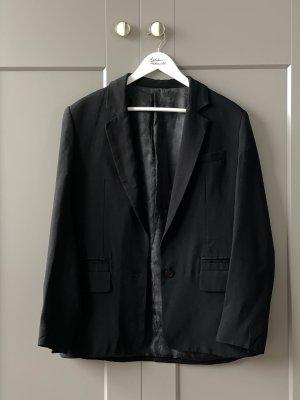 Karl Lagerfeld Blazer boyfriend noir acétate