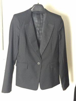 Karl Lagerfeld Lange blazer zwart