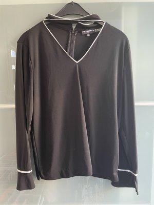 Karl Lagerfeld Long Sleeve Blouse black
