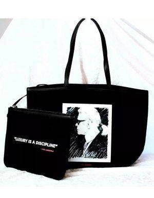 Karl Lagerfeld Canvas Shopper
