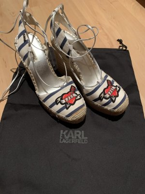 Karl Lagerfeld Wedge Sandals multicolored
