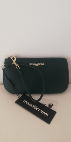 Karl Lagerfeld Clutch Green Gold