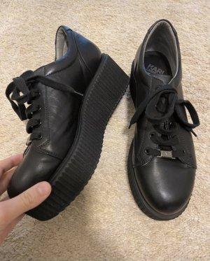Karl Lagerfeld Zapatillas con tacón negro