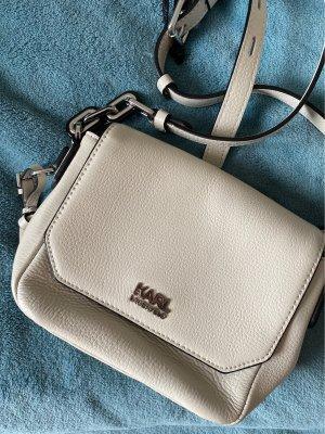 Karl Lagerfeld Crossbody Bag Tasche beige