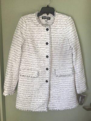 Karl Lagerfeld Damen Mantel Jacke weiß schwarz 38