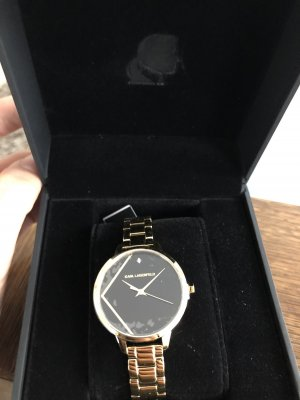 Karl Lagerfeld Analog Watch gold-colored-black