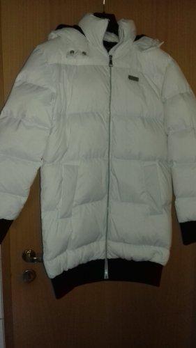 Karl Lagerfeld Manteau en duvet blanc
