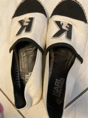 Karl Lagerfeld Espadrille sandalen veelkleurig