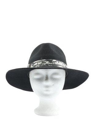 Karl Lagerfeld Felt Hat black elegant