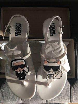 Karl Lagerfeld Flip Flops / Sandalen NEU