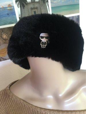 Karl Lagerfeld Fur Headband