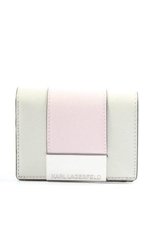 Karl Lagerfeld Geldbörse wollweiß-pink Casual-Look