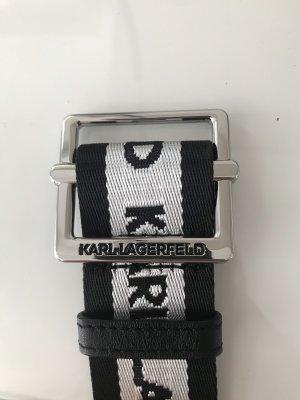 Karl Lagerfeld Cinturón de tela multicolor