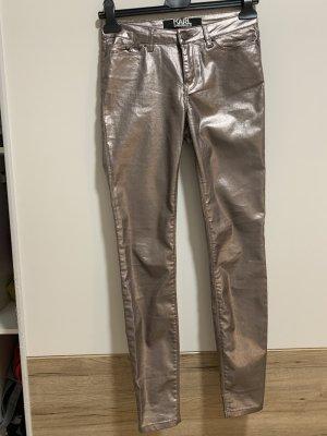 Karl Lagerfeld Hose in Silber
