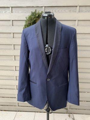 Karl Lagerfeld Wollen blazer donkerblauw-blauw