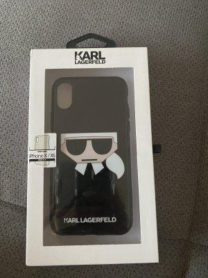 Karl Lagerfeld Carcasa para teléfono móvil negro