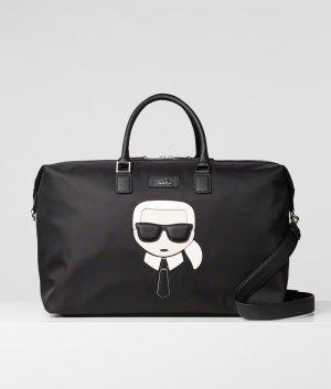 Karl Lagerfeld Weekender Bag black
