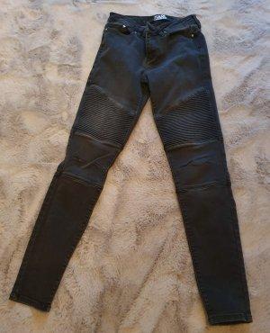 Karl Lagerfeld Jeans de moto gris anthracite